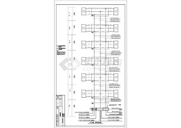 某小区全套建筑设计CAD施工图纸-图2