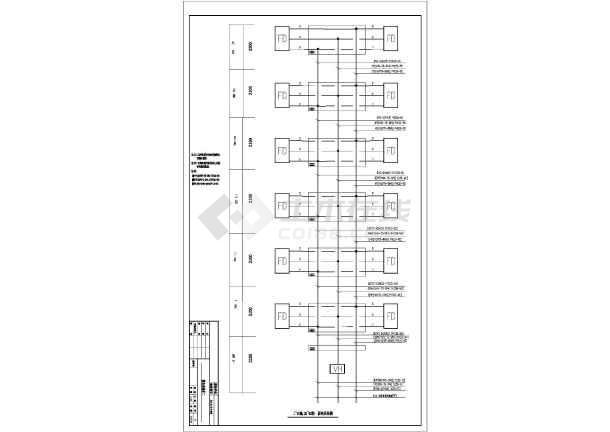 某小区全套建筑设计CAD施工图纸-图3