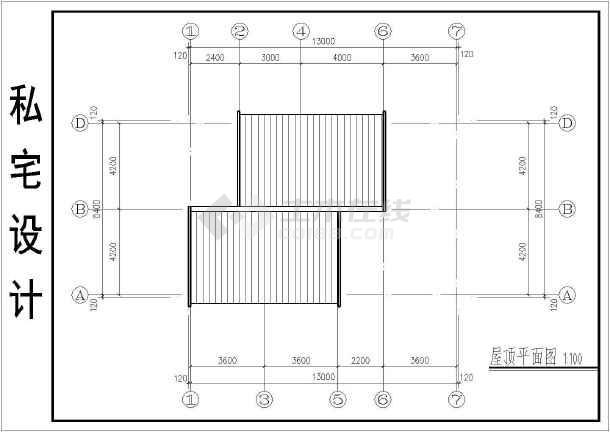 某地私宅二层图纸建筑设计v私宅施工图目录结构设计别墅图片