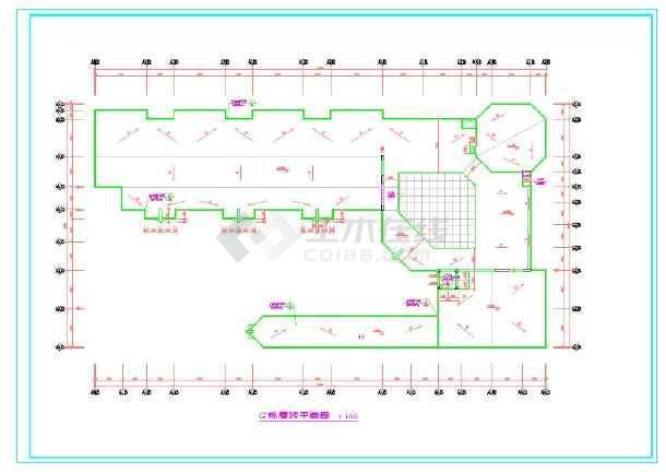 三层幼儿园cad全套方案详细设计图
