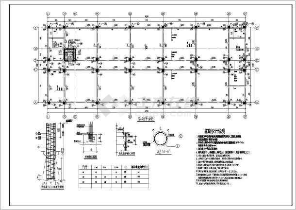 某图纸倒班宿舍楼cad结构竣工设计施工横向工厂打印图纸cd图片