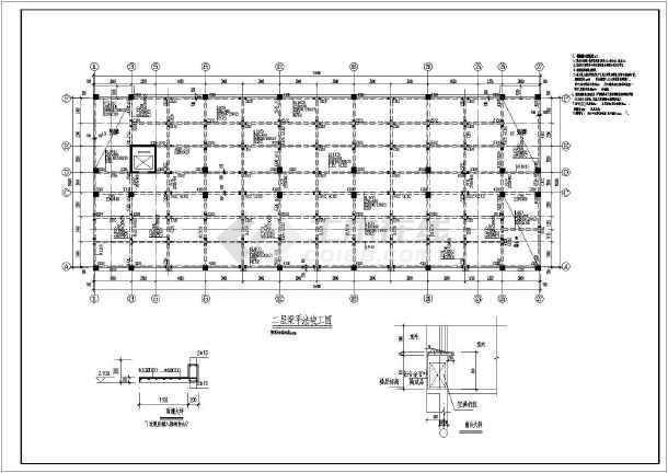 某工厂倒班宿舍楼cad结构竣工设计施工图纸classic+图纸图片