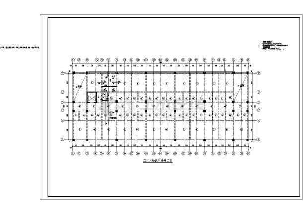 某图纸倒班宿舍楼cad图纸竣工设计施工结构做工厂怎么优化图片