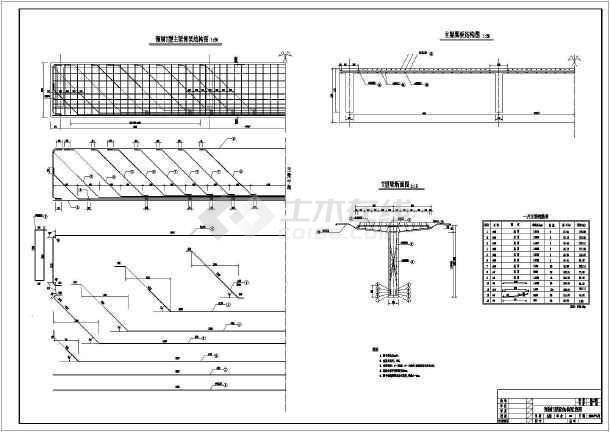 某村庄农用桥梁cad设计施工图纸-图3
