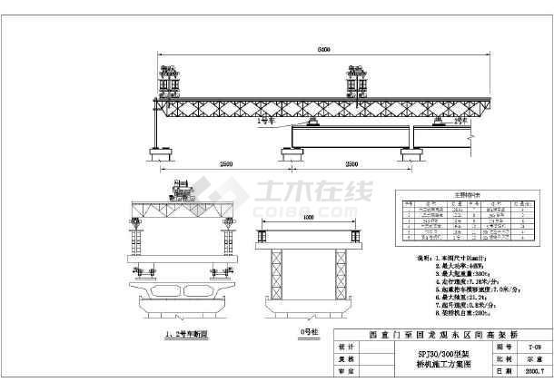 整套齐全的桥梁施工CAD方案图纸-图2