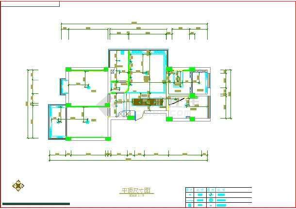 某家庭室内装修cad设计施工图纸tekla怎么输出图纸图片