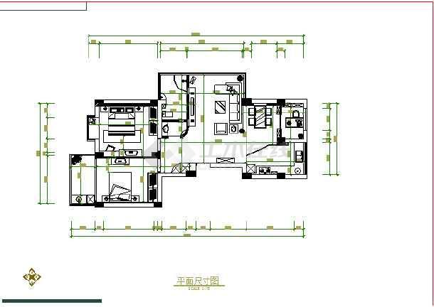 某图纸室内装修cad设计施工错误广联达怎么办梁跨图纸如果家庭图片