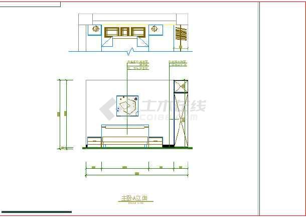 某图纸室内装修cad设计施工网络图纸通风图家庭图片