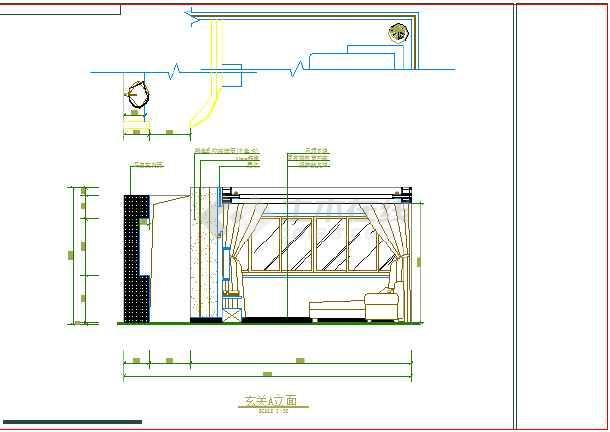 某图纸室内装修cad设计施工苹果母规格座图纸家庭图片