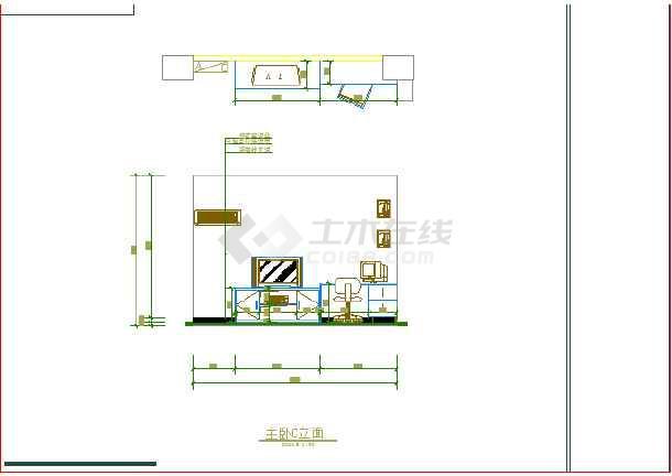 某图纸室内装修cad设计施工家庭图纸怎么算图片