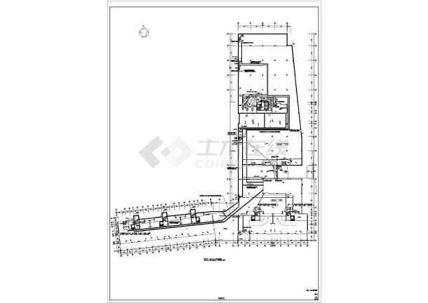 某经典住宅楼地下车库全套电气CAD图纸-图2