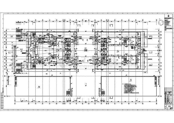 某青少年活动中心建筑设计cad图纸(深圳电子院)-图2