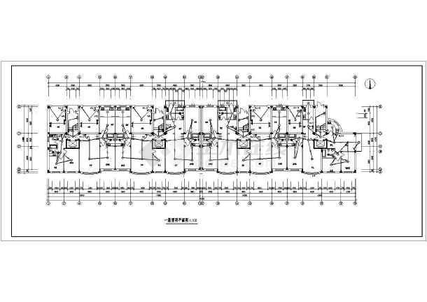 某地区住宅全套家庭电气施工CAD设计图-图3