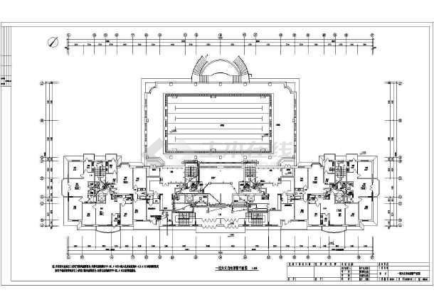 某地区高层住宅全套电气CAD设计图-图3