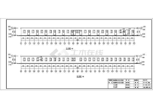 【四川】安置房建筑结构水电施工设计CAD图-图1