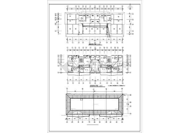 某地区经典住宅楼电气全套CAD设计图纸-图1