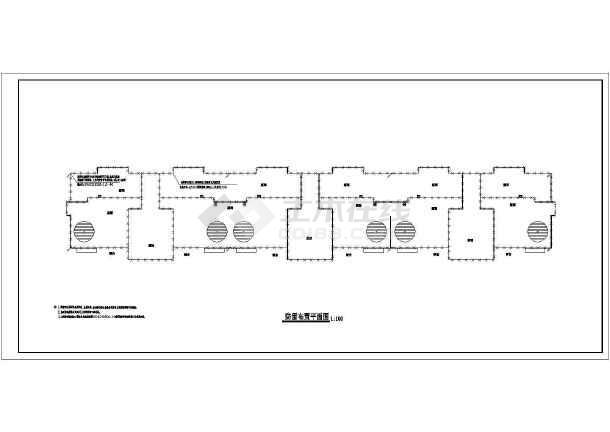 一套电气住宅楼高层规划设计cad施工图cad怎么三维转二维图片