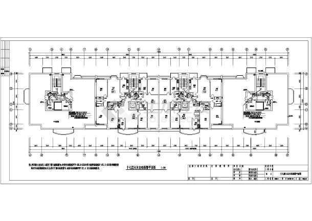 某地区高层住宅家庭电气CAD设计图-图2