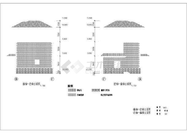 东部沿海某地区三层农村自建房建筑结构施工图-图1