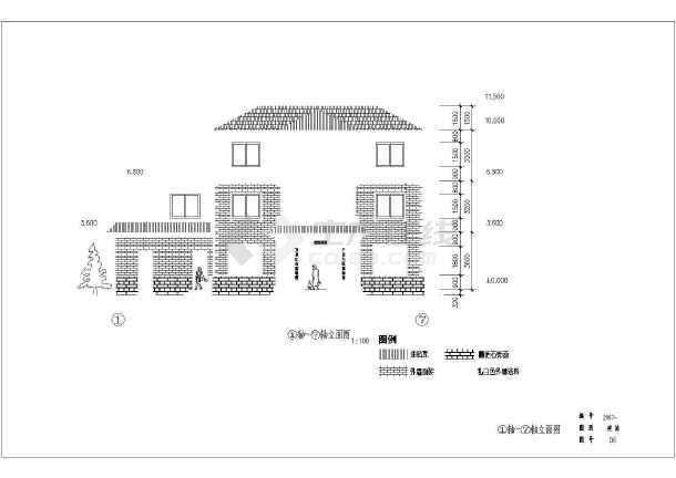 东部沿海某地区三层农村自建房建筑结构施工图-图2