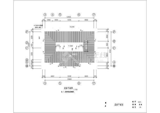 东部沿海某地区三层农村自建房建筑结构施工图-图3