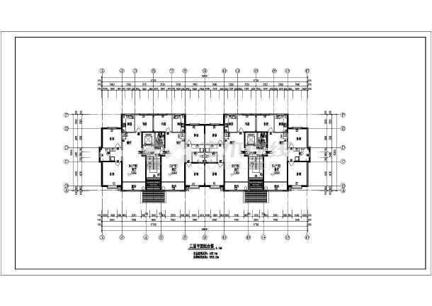 宁夏11层小高层住宅楼建筑设计图图片