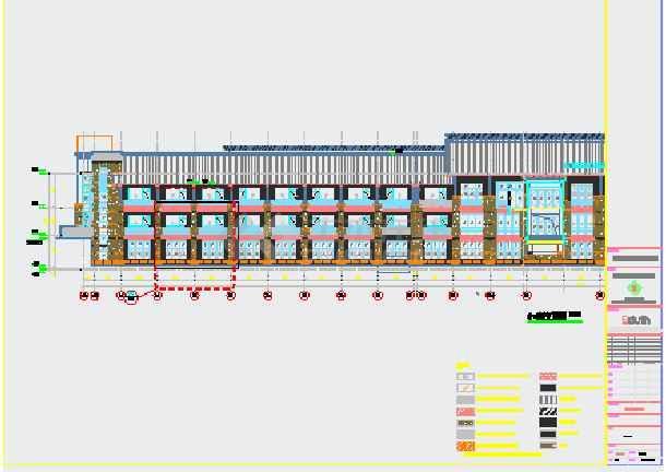 酒店外墙工程结构施工图(含设计说明)-图1