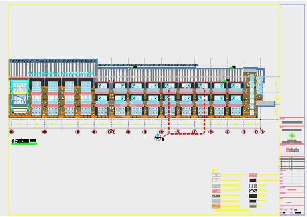 酒店外墙工程结构施工图(含设计说明)-图2