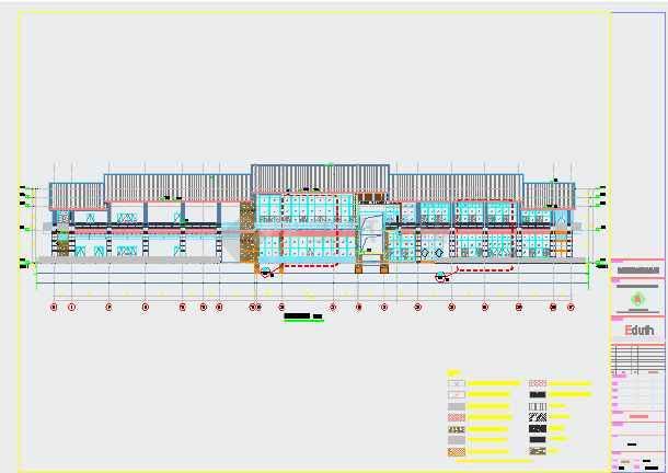 酒店外墙工程结构施工图(含设计说明)-图3