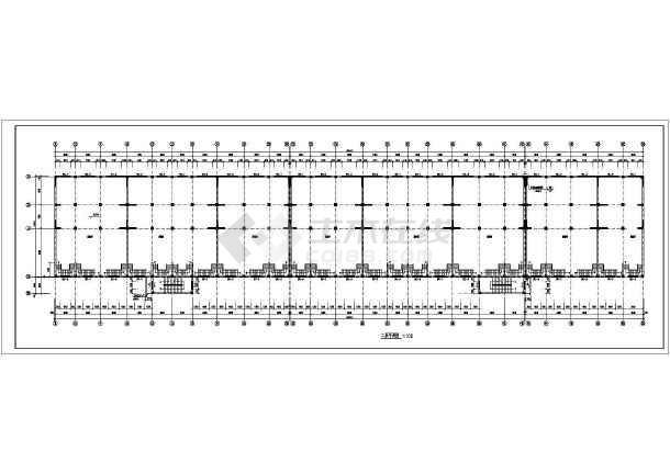 某商住两用框架结构住宅楼施工图纸(含设计说明)-图1
