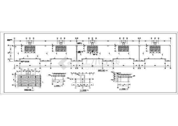 某商住两用框架结构住宅楼施工图纸(含设计说明)-图2