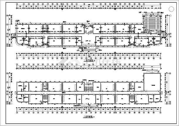 某地区四层教学楼建筑结构设计图纸-图3