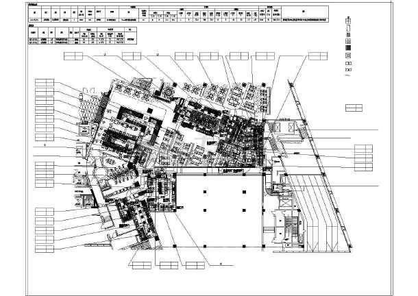 某五星级酒店西餐厅厨房CAD沙龙365国际设计图纸-图1
