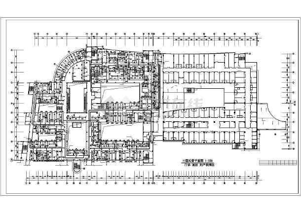 某医院办公楼全套中央空调设计施工cad方案图纸-图2