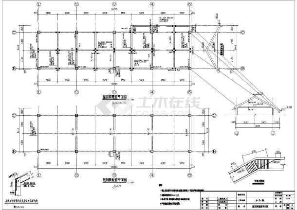 古代徽派建筑马头墙的完整cad结构设计施工图