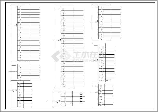 框剪结构酒店电气系统设计图(含设计说明)-图3