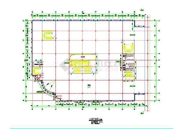 某高层商场大夏建筑cad施工设计图
