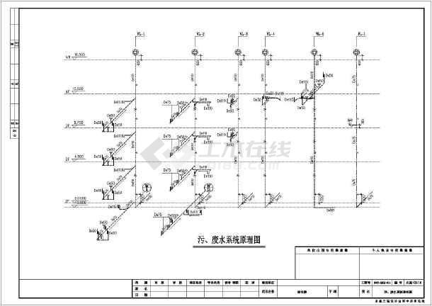 某地写字楼综合办公楼给排水设计施工图-图2