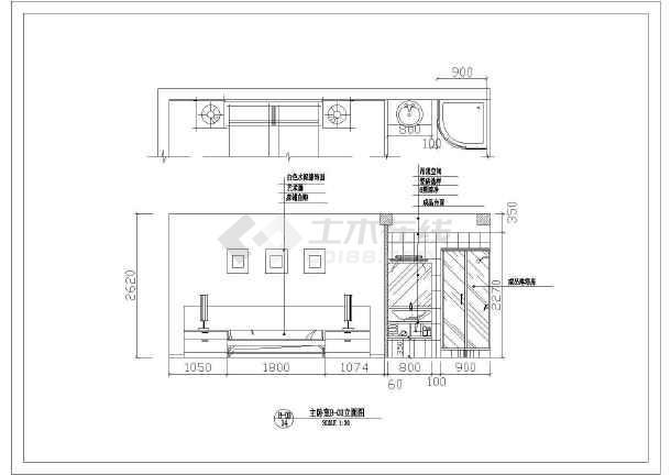 某地区江滨假日家居全套cad设计方案图纸-图1