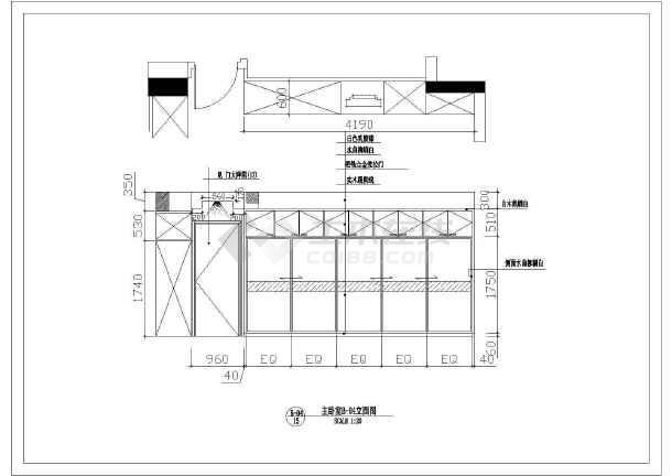某地区江滨假日家居全套cad设计方案图纸-图3
