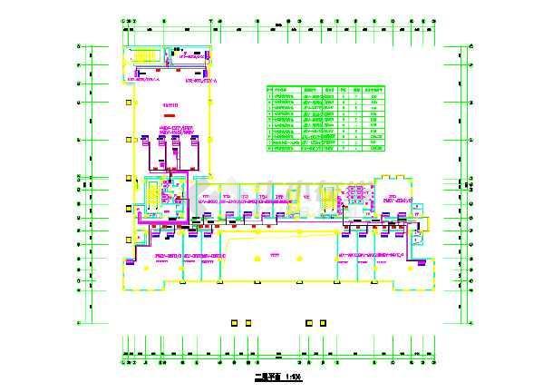 某综合办公楼沙龙365国际cad施工图-图1