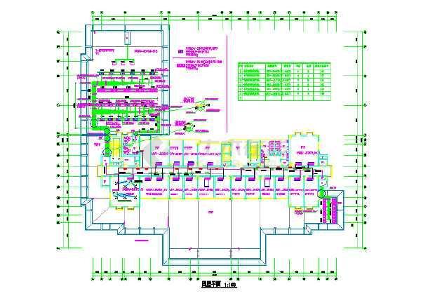 某综合办公楼沙龙365国际cad施工图-图3