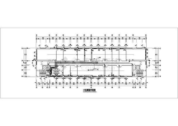某十层办公大楼暖通设计cad施工图-图1