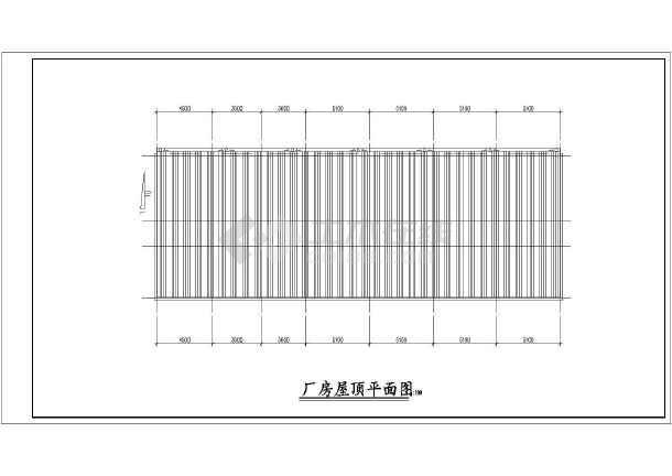 水电站设计施工厂房cad布置图纸-图1