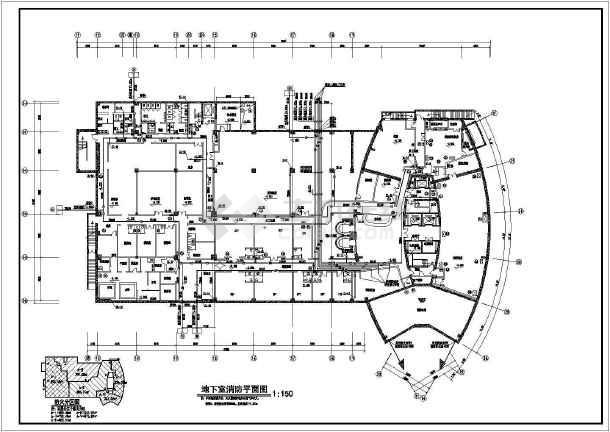 某地小高层住宅楼给排水设计施工图-图3