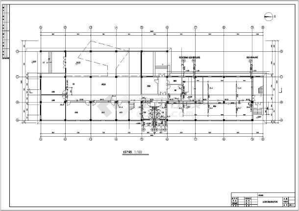 三层厂房办公楼给排水及消防设计施工图-图3