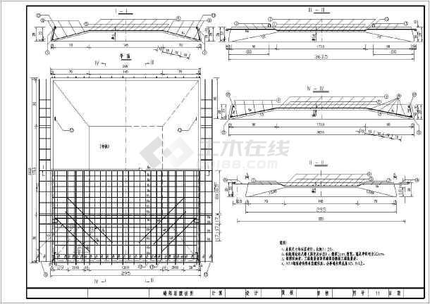 完整版预应力桥梁cad施工设计图纸-图2