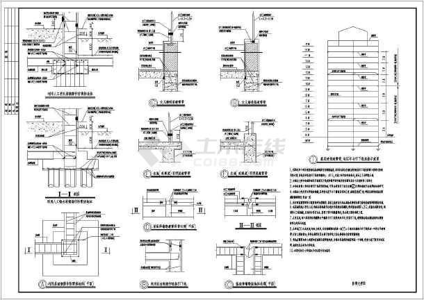 某17层公寓电气设计CAD全套图纸-图1