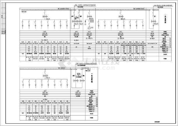 某17层公寓电气设计CAD全套图纸-图2