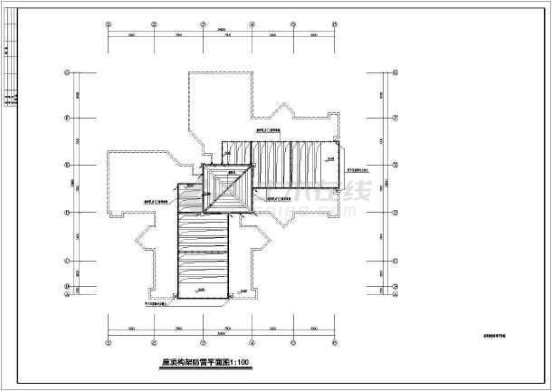 某17层公寓电气设计CAD全套图纸-图3